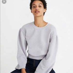 Madewell x Karen Walker Millennial Purple Sweater